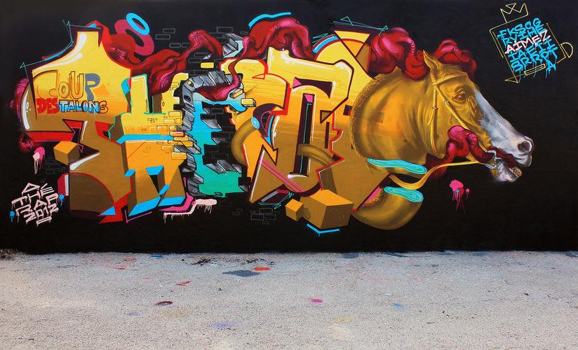 Œuvre Par John Kviar à Toulon