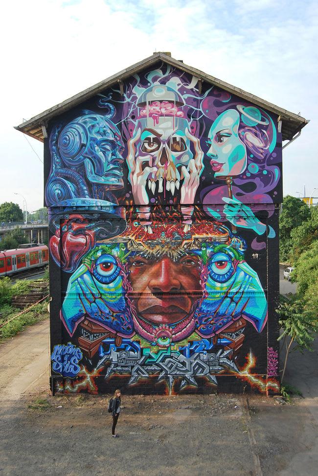 Artwork By Key Detail in Wiesbaden