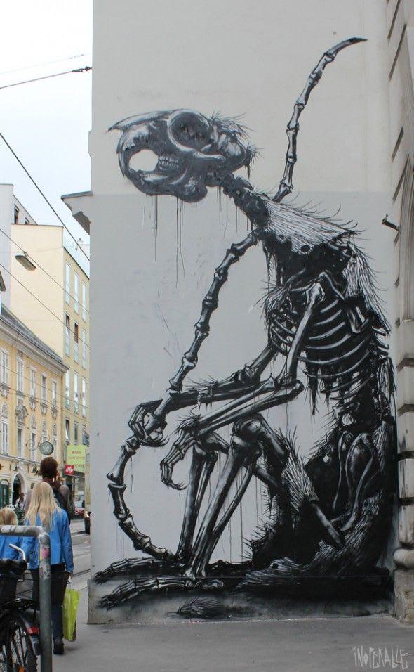 Artwork By Roa in Naples