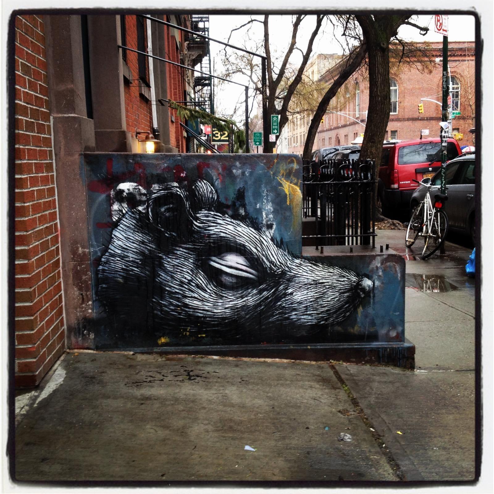 Œuvre Par Roa à New York