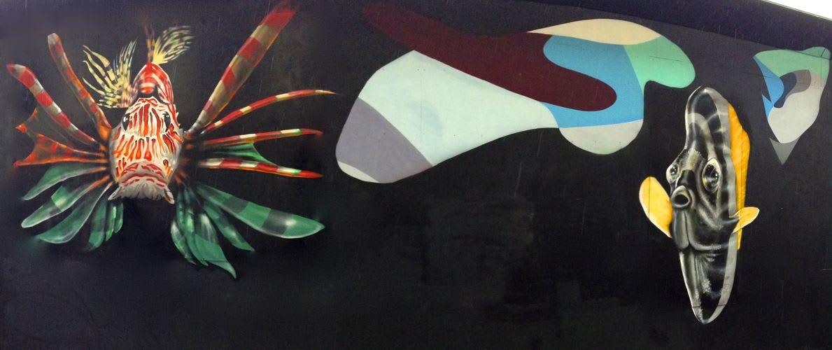 Artwork By Oskar Koliander in Copenhagen