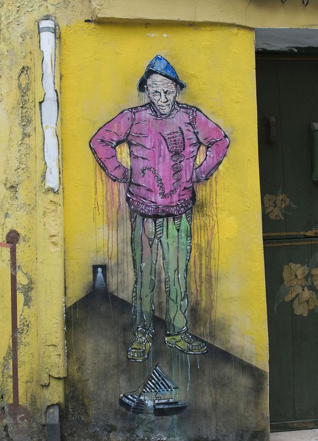 Artwork  in Ferrol
