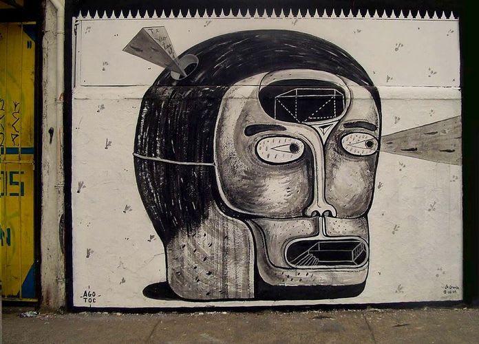 Artwork By Agotok in Santiago