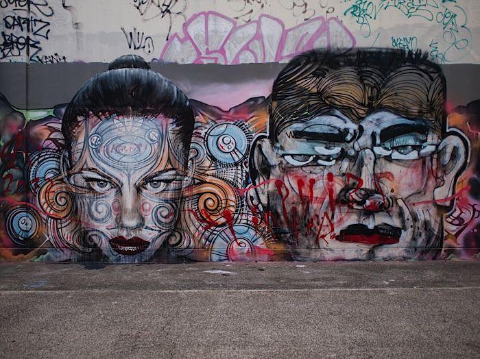 Œuvre Par Anthony Lister, Phibs, Rone à Sydney