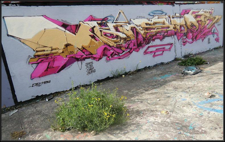 Artwork By DEM189 in Saint-Denis