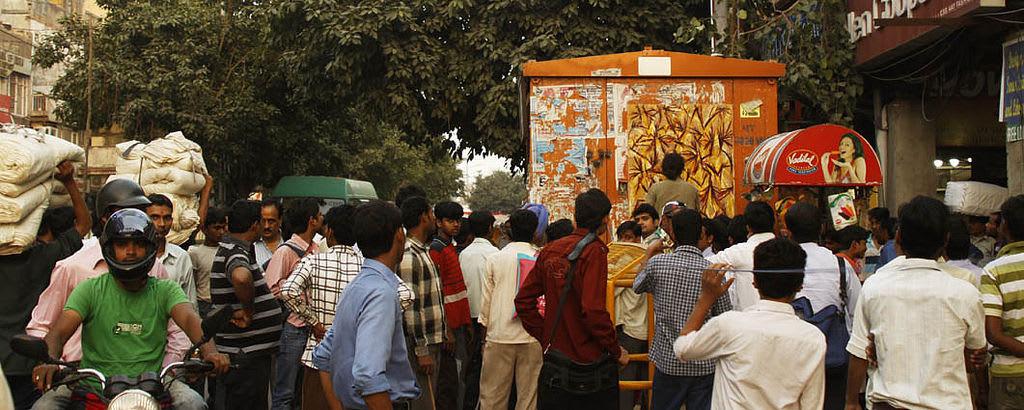 Œuvre  à Delhi, New Delhi