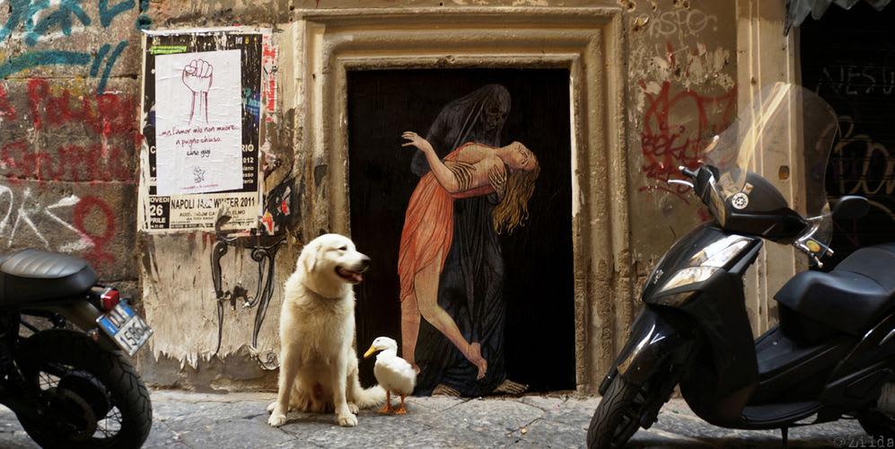 Œuvre Par Zilda à Naples