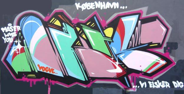 Artwork  in Copenhagen