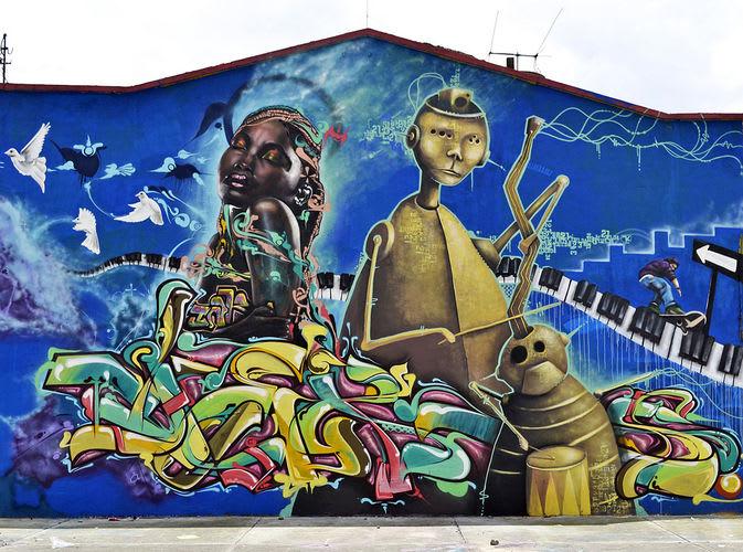 Œuvre Par Zokos à Bogota