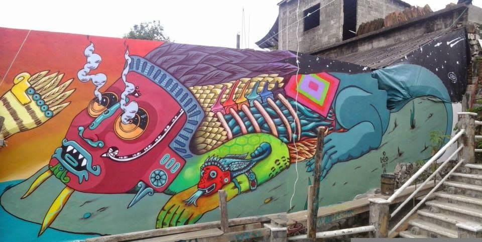 Œuvre Par Lelotzin à Puebla