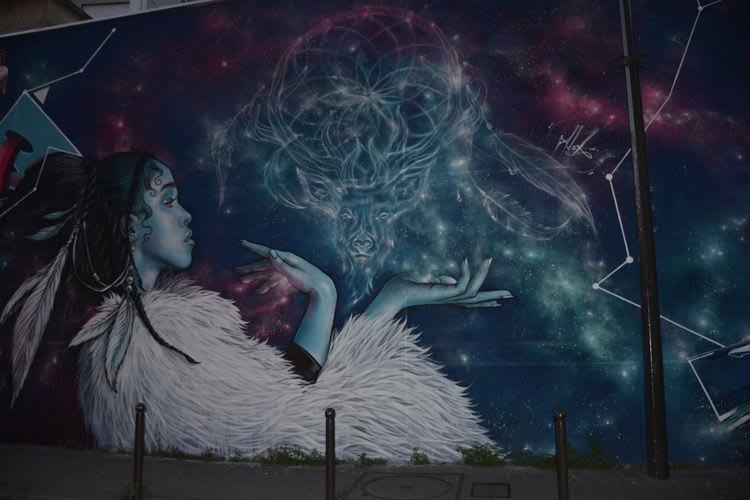 Artwork By Alex in Paris