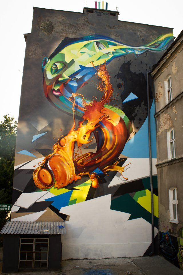Œuvre Par Cekas à Lublin