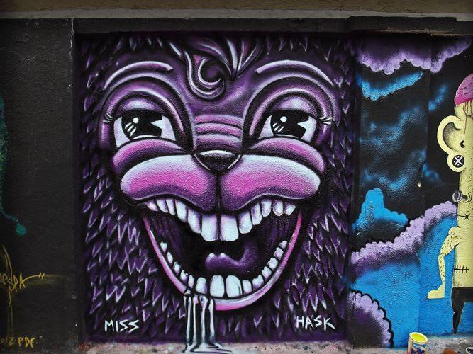 Œuvre Par Miss Hask à Quito