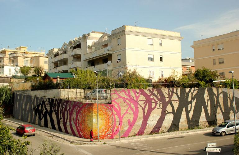 Artwork By Pablo S. Herrero in Gaeta