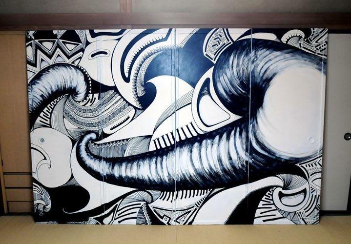Artwork  in Fukushima Shi