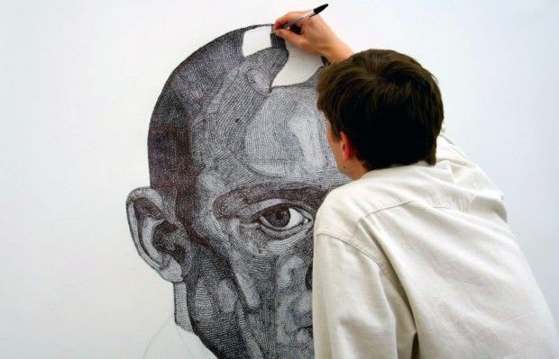 Artwork By Everett Jacob in London