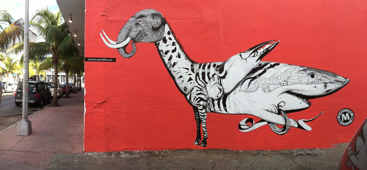 Artwork By Juan Fernandez in Miami