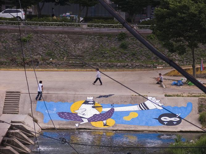 Artwork By JunkHouse in Jeonju-si