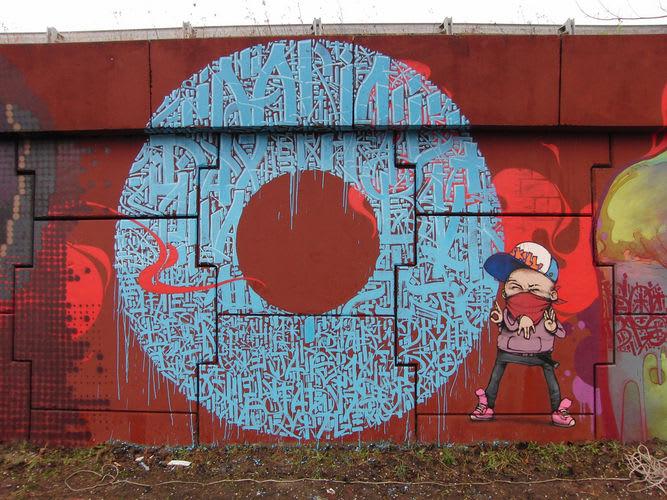 Artwork By sowat in Palaiseau