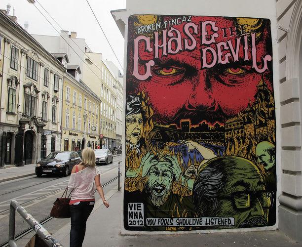 Artwork  in Innere Stadt, Vienna