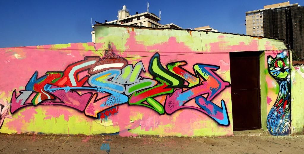 Artwork By deLaraíz1 in Valparaíso
