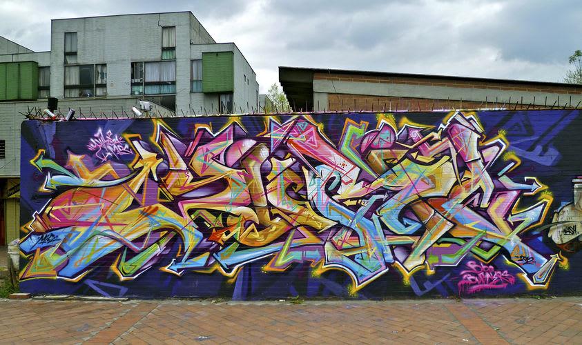 Œuvre Par Yurika à Bogota