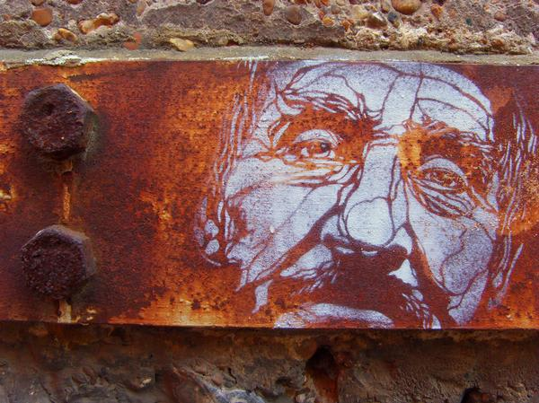 Artwork By C215 in Brighton