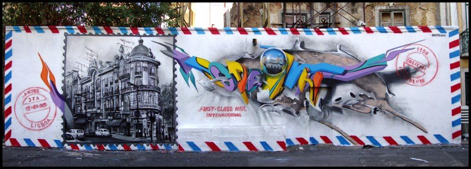 Artwork By Odeith in Lisbon