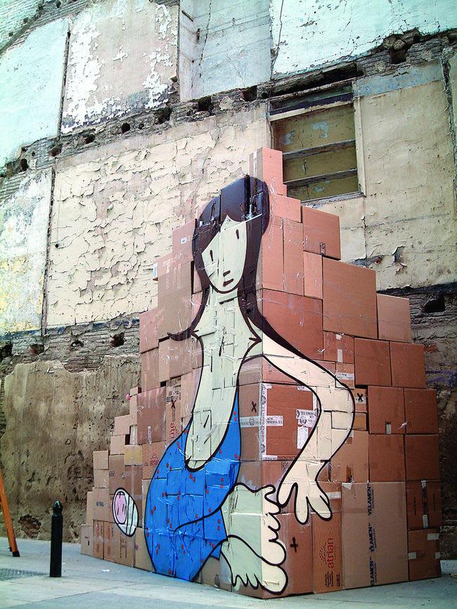 Artwork By Boris Hoppek in Zaragoza