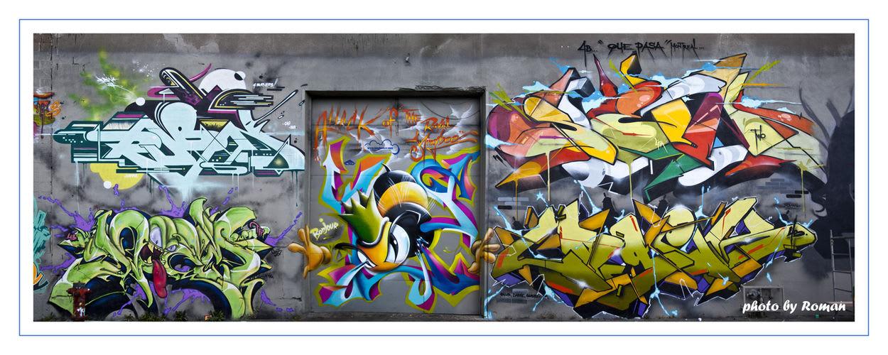 Œuvre Par Sen2, Logek, Rubin à Montréal