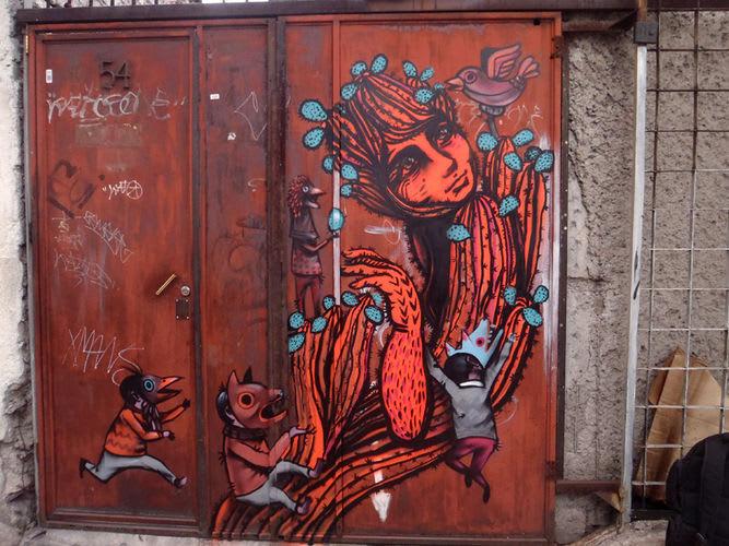 Œuvre Par Saner1 à Mexico