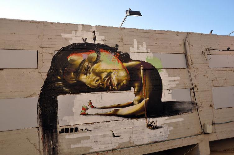 Œuvre Par jack à Tel Aviv-Jaffa