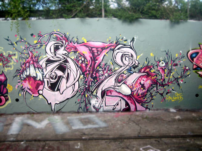 Artwork By KANOS in Basel