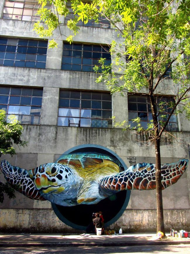 Artwork By Martin Ron in Buenos Aires