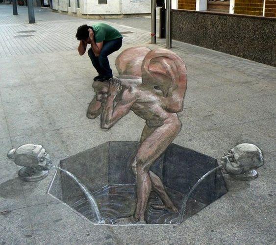Artwork By Eduardo Relero in Madrid