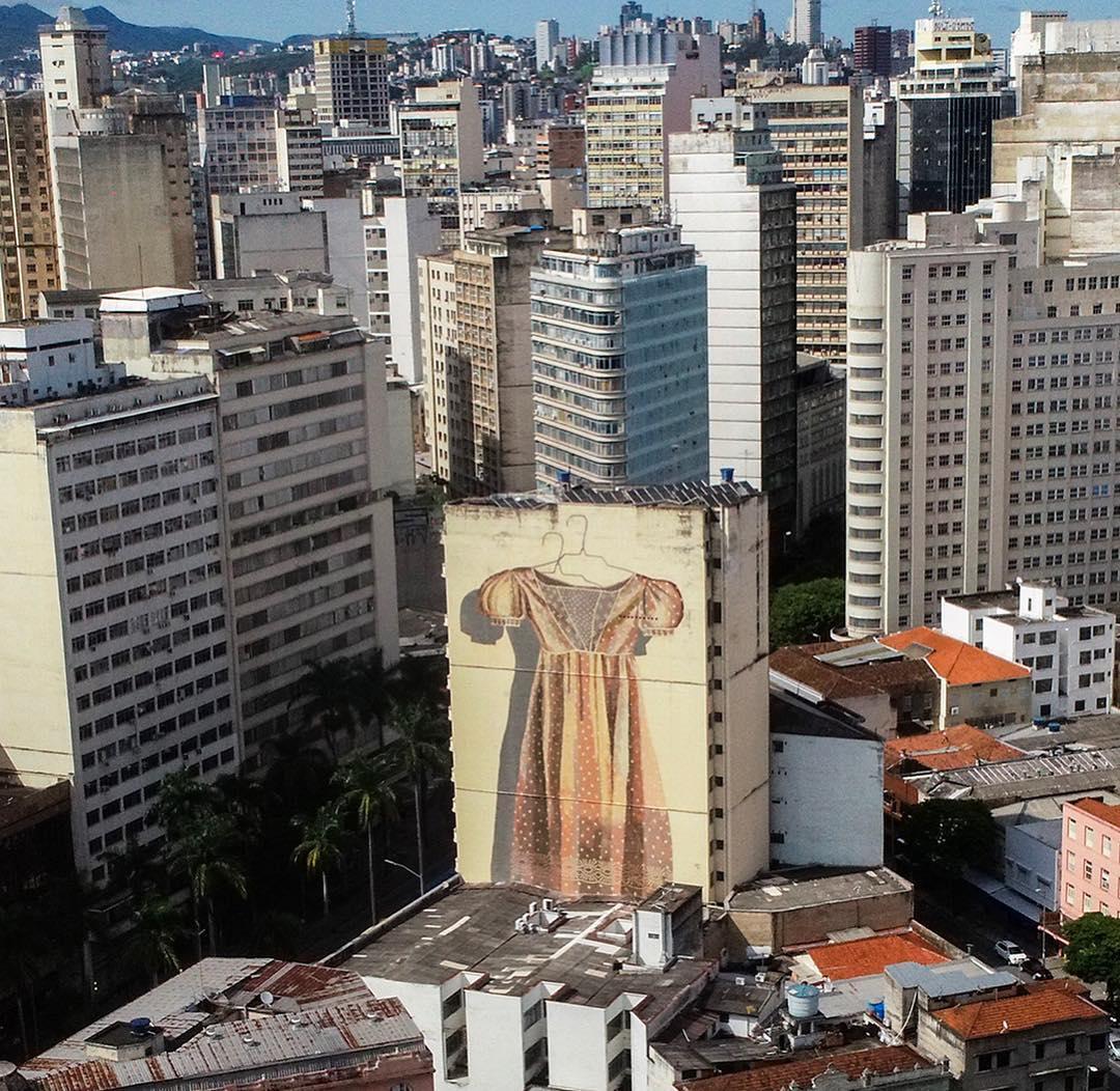 Œuvre Par Hyuro à Belo Horizonte