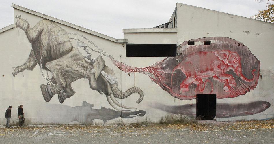 Artwork By Violant in Lisbon