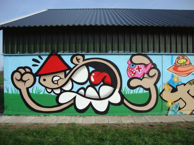 Artwork By Ox-Alien in Woerden