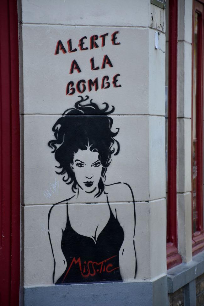 Artwork By Miss-tic in Paris