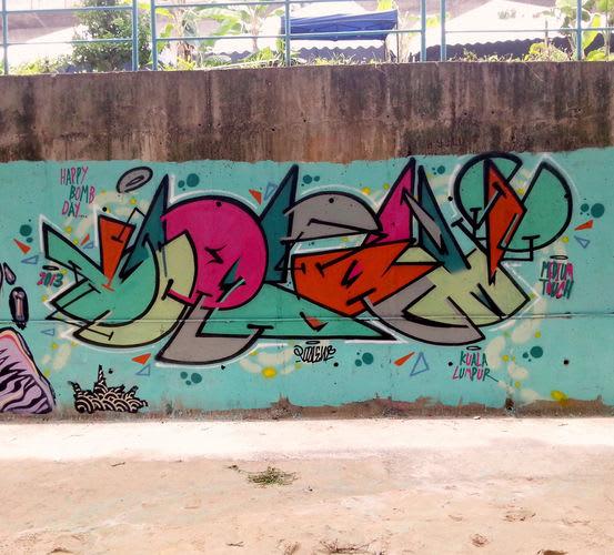 Artwork  in Kuala Lumpur