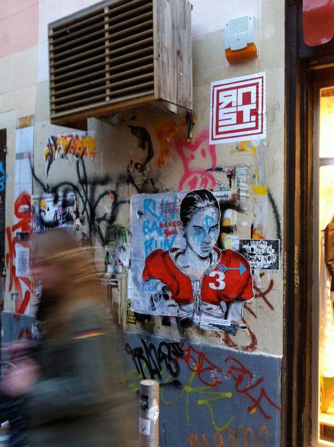 Œuvre Par RNST à Marseille