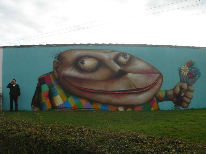 Œuvre Par Ador à Nantes