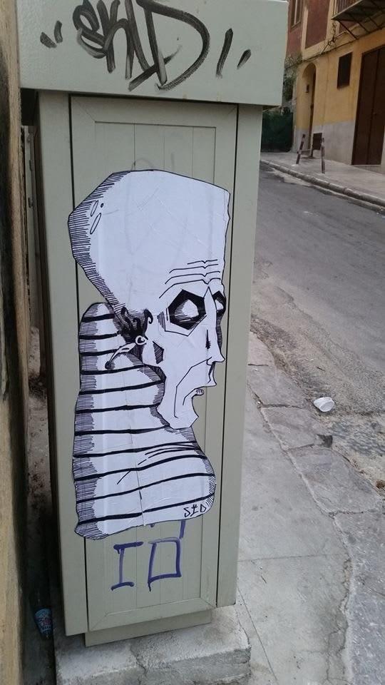 Œuvre Par PeppeSid à Palerme