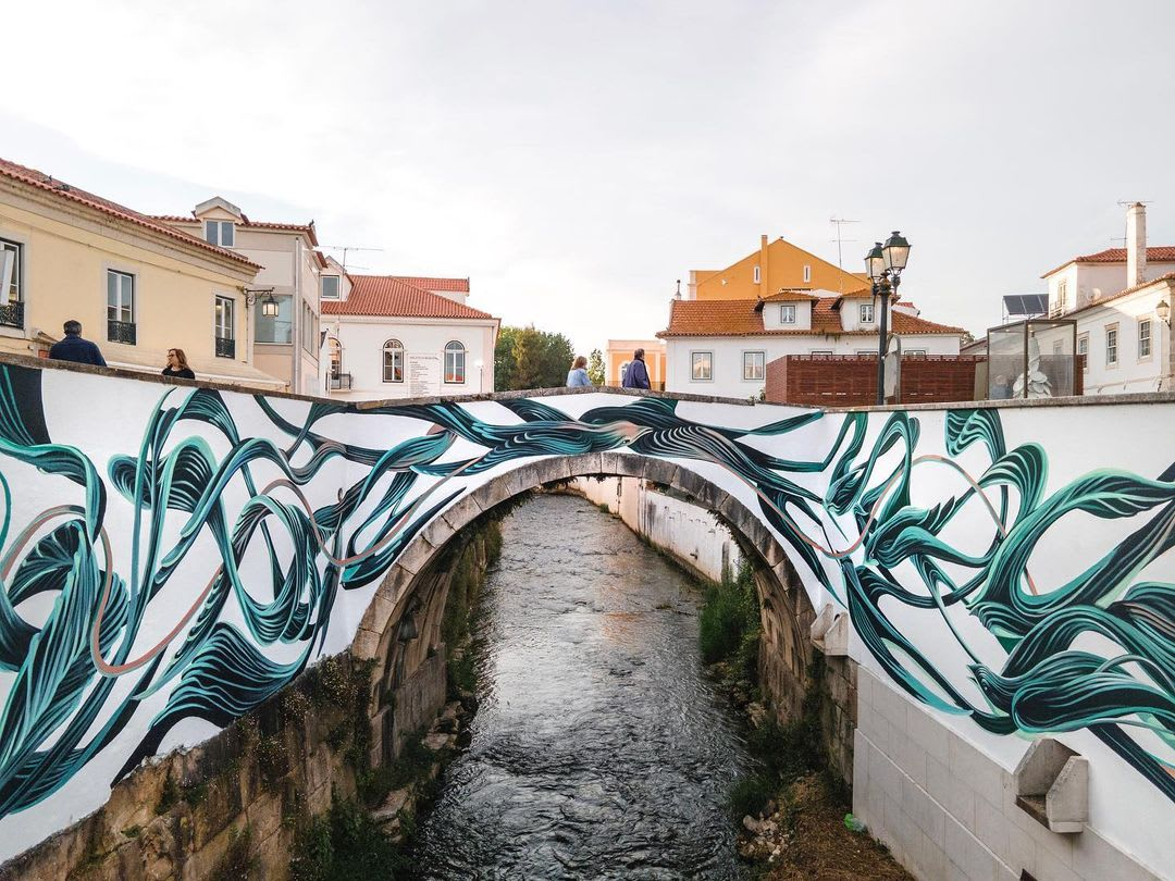 """Pantonio's art merges with water in new creation """"Do Rio"""""""