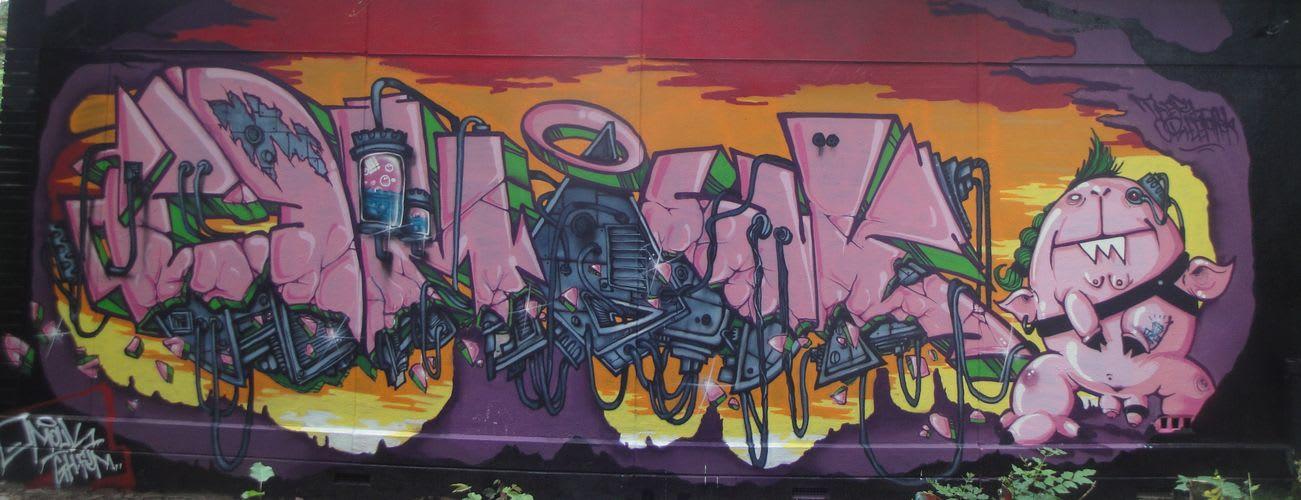 Artwork By OMOUCK in Bazainville