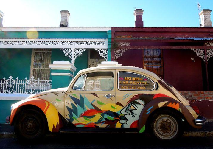Artwork By Miguel Lomott in Cape Town