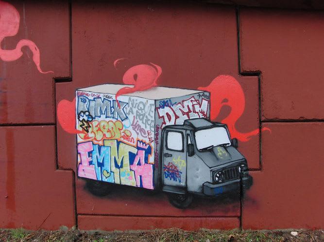 Artwork By Dran in Palaiseau