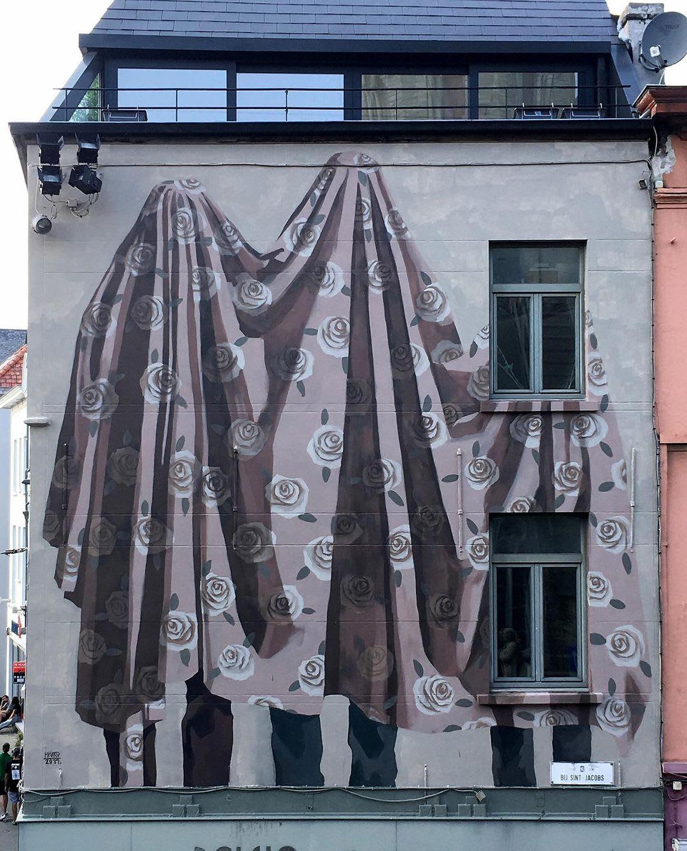 Artwork  in Ghent