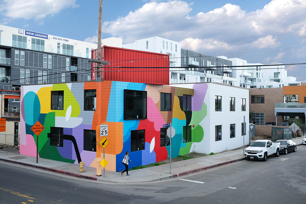 Œuvre Par Oli-B à Los Angeles
