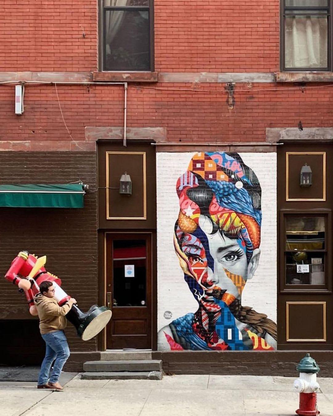 Œuvre Par Tristan Eaton à New York